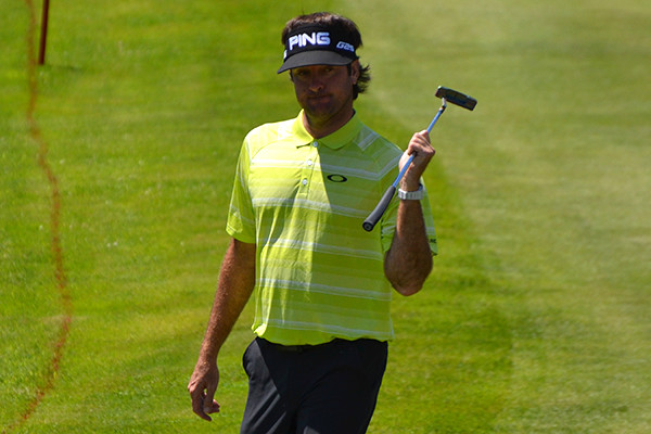 Bubba Watson at the Travelers Championship 2014, Galatians Design