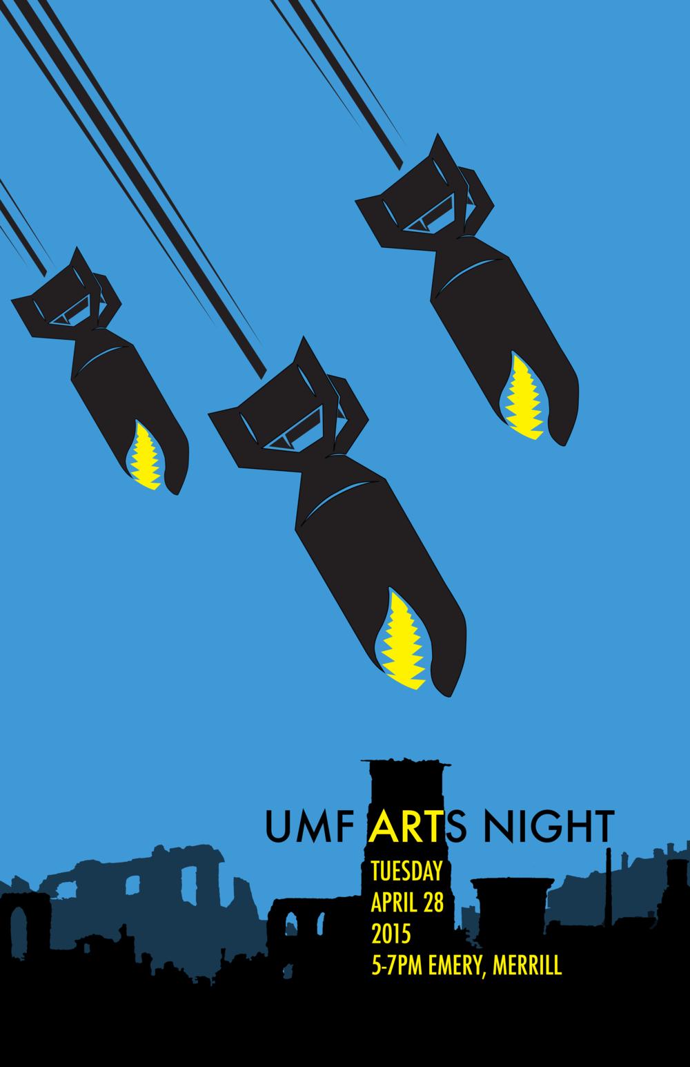 Arts Night Poster