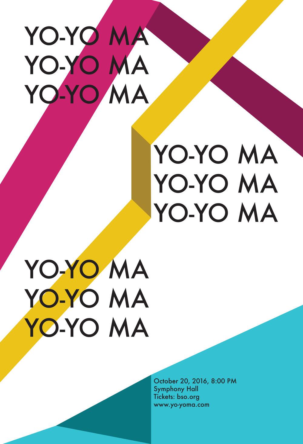 Yo-Yo Ma Poster