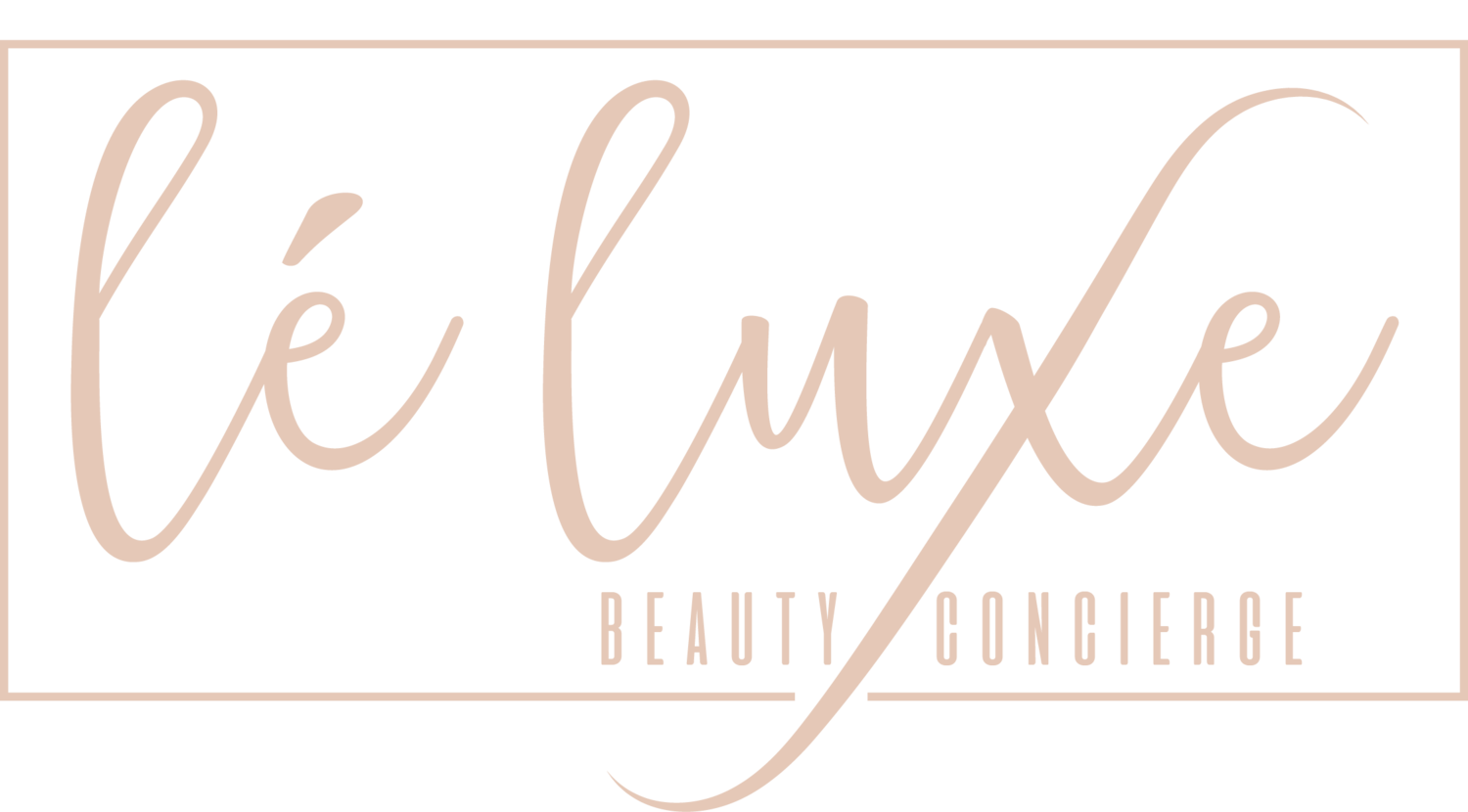 lè luxe beauty concierge