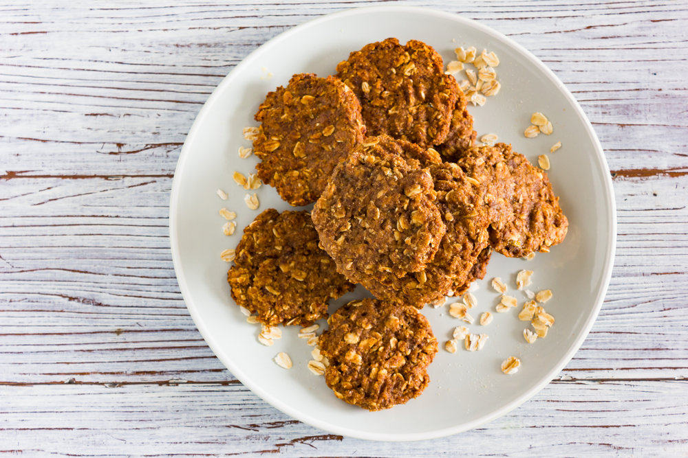 Simple & Delicious Oat Cookies
