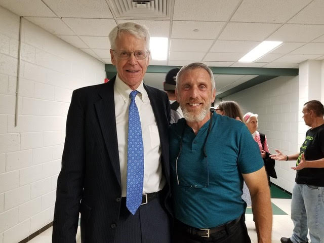 Paul and Dr Caldwell Esselstyn (author of Prevent & Reverse Heart Disease)