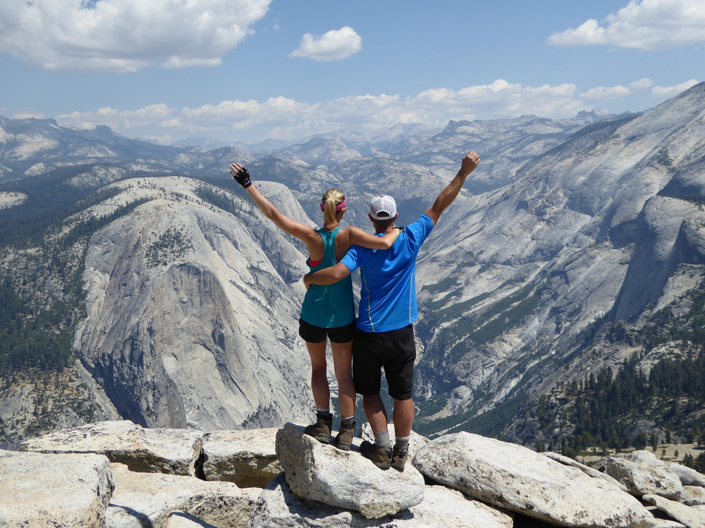 Summit of Half Dome in Yosemite National Park