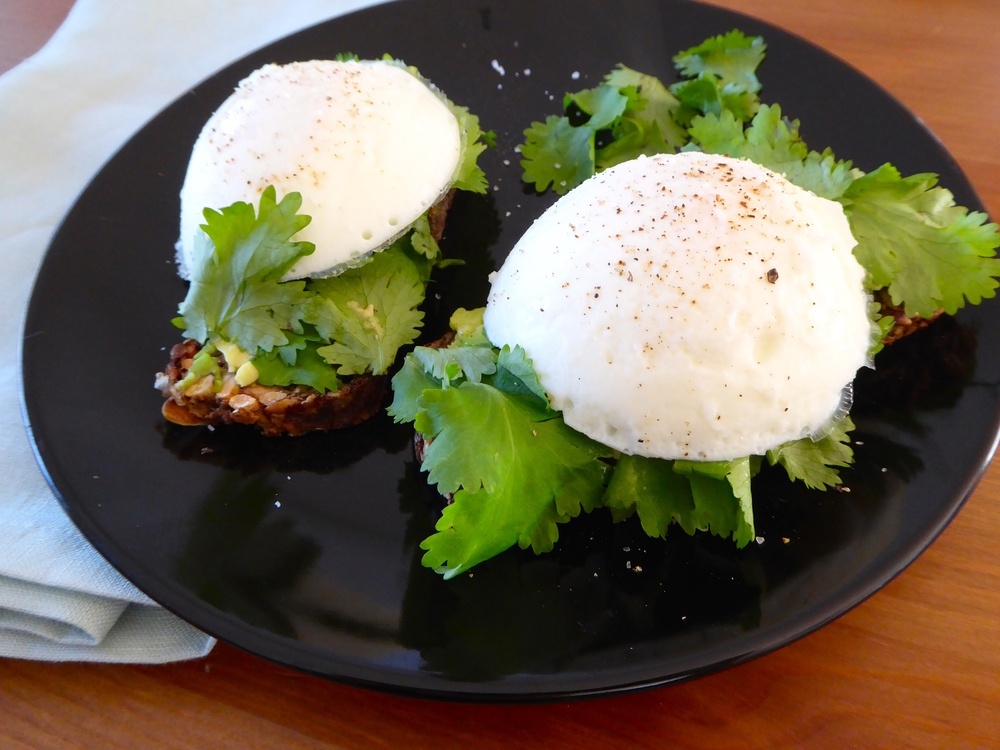 eggs and smashed avocado on toast4