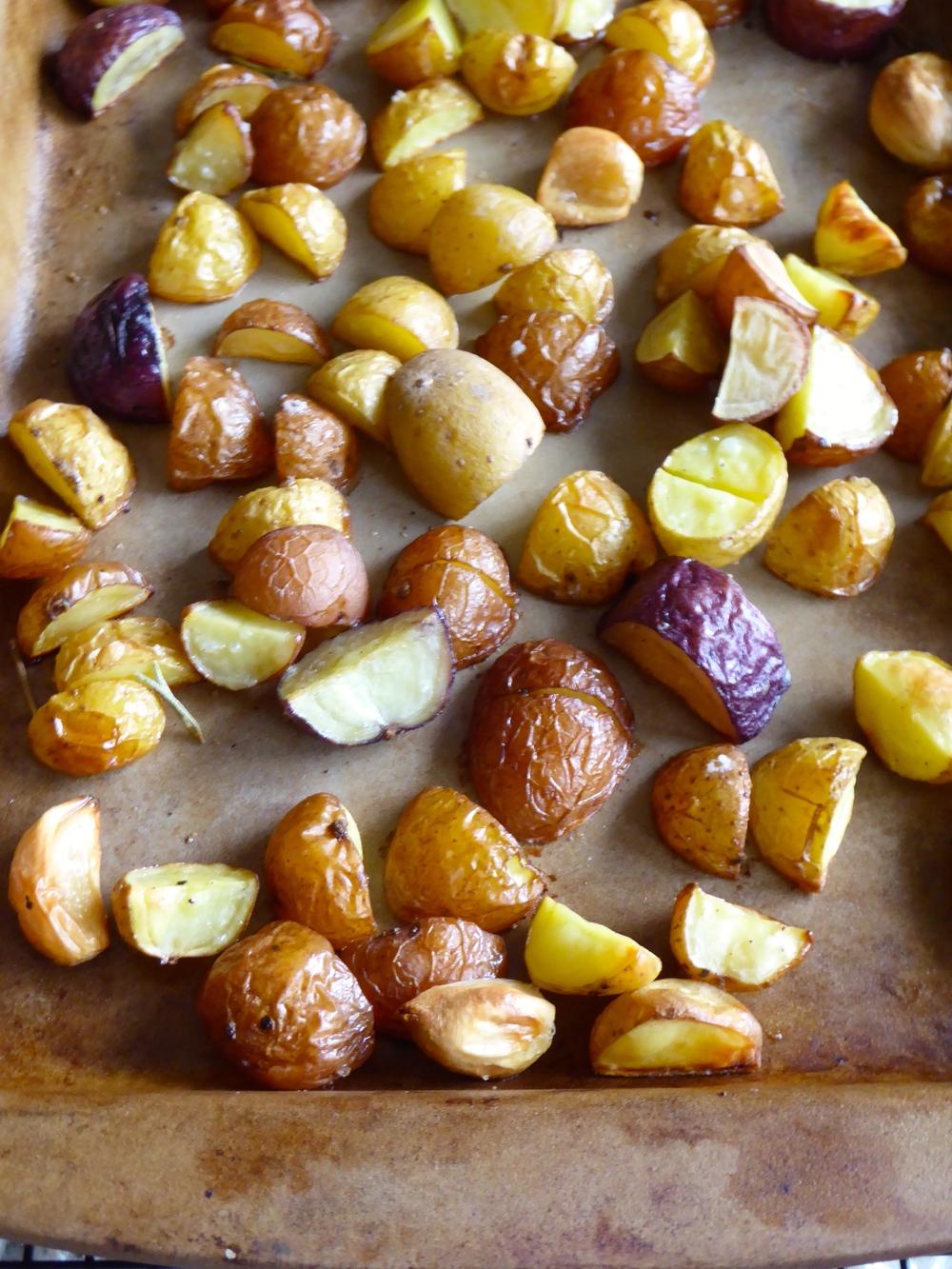 simple roasted potatoes 4