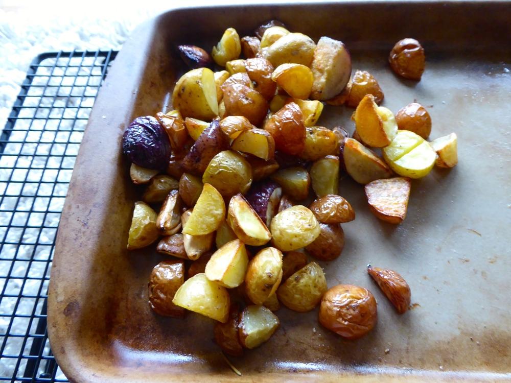 simple roasted potatoes 5