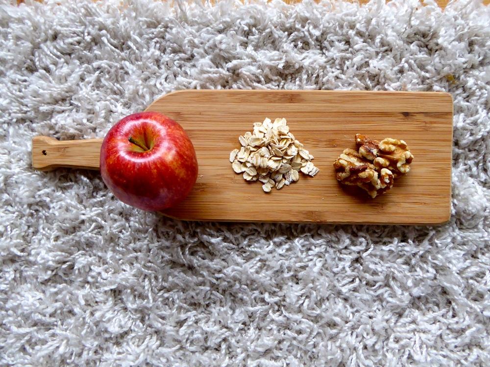 Apple Oats Walnuts
