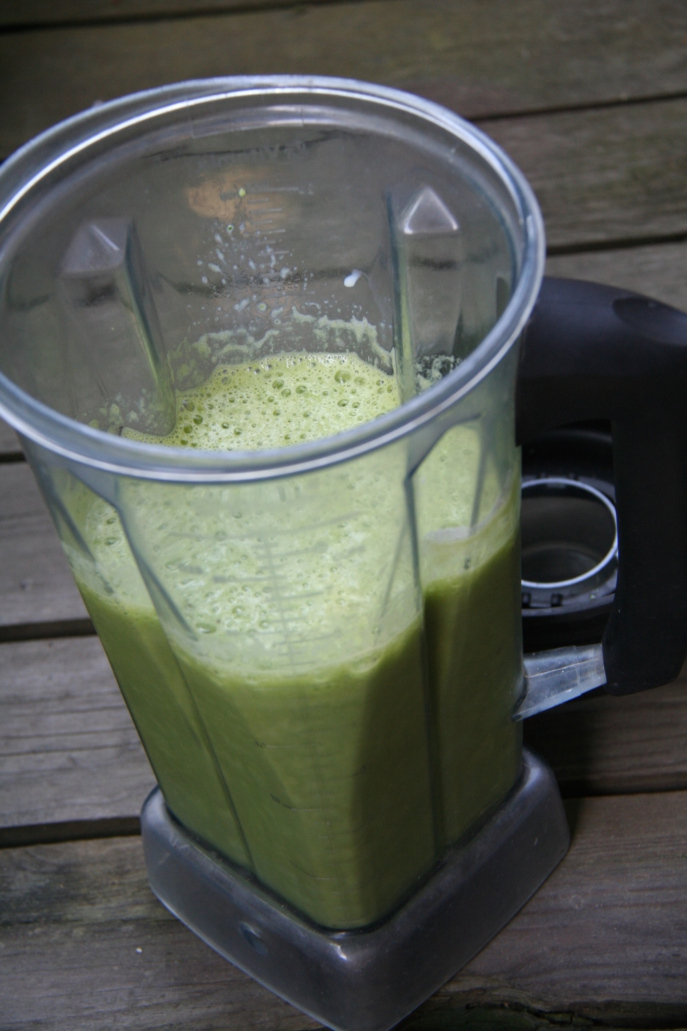 creamy mint smoothie 2
