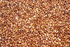 Cooked buckwheat groats (kasha)
