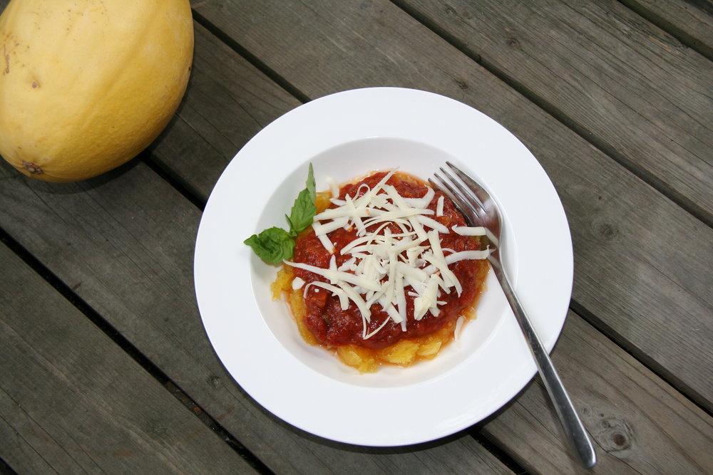 Spaghetti Squash Bolognaise