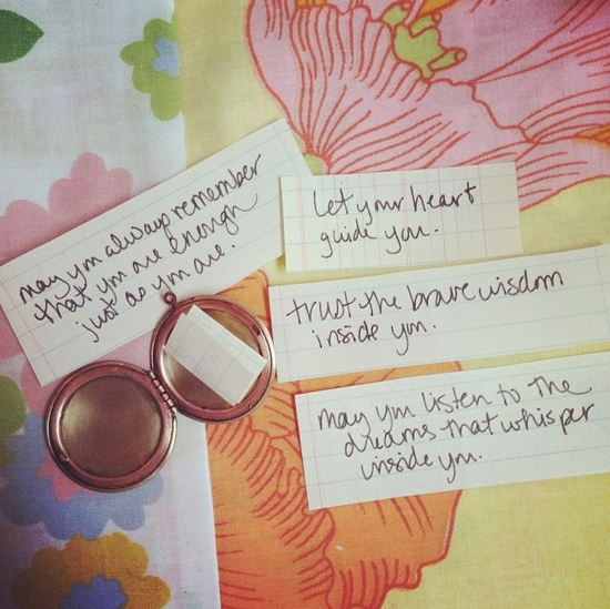 lockets + secret messages — Liz Lamoreux