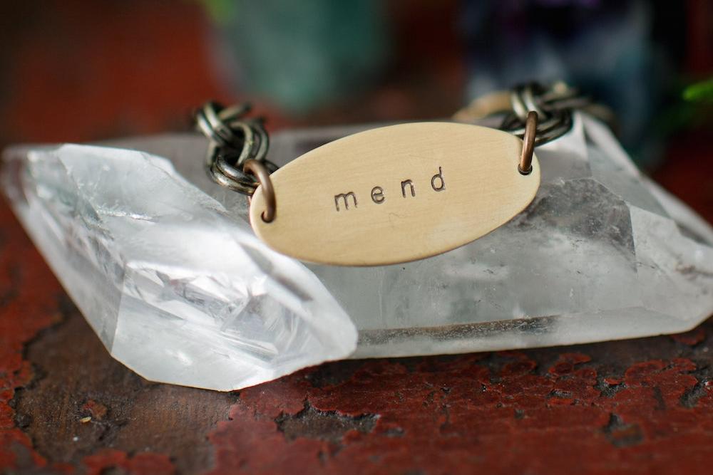 mend soul mantra bracelet