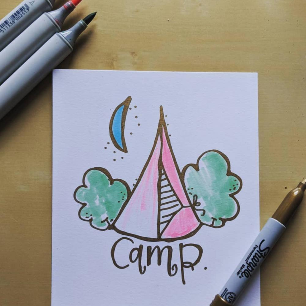 camp doodle