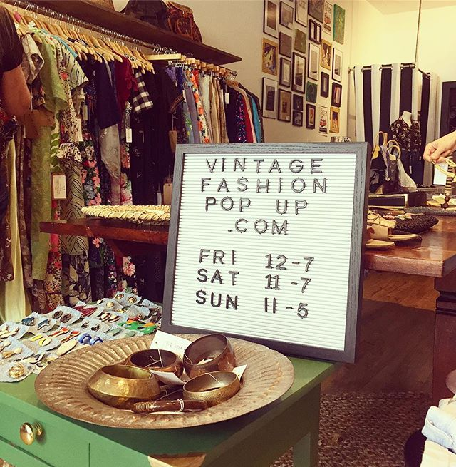 Don't miss us at @vintagefashionpopup 15613 Detroit Rd. In Lakewood!