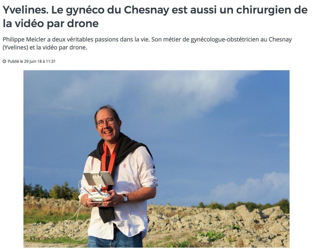 Interview - dans Actu 78 , groupe de presse de proximité français intervenant en Presse Hebdomadaire Régionale (consolide 1/3 du secteur en France) et Presse Quotidienne Départementale et appartenant à l'ensemble Sipa Ouest-France.