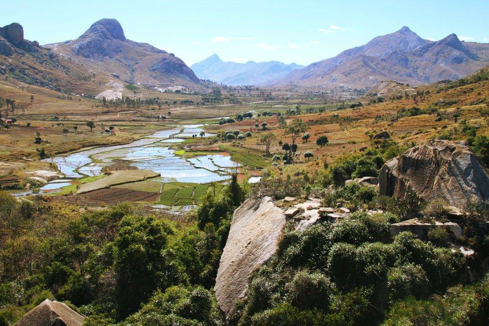 Near Ambalavao, Madagascar