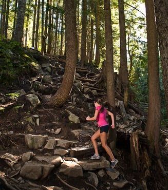When literal & figurative mountains collide: Grouse Grind in September anyone?
