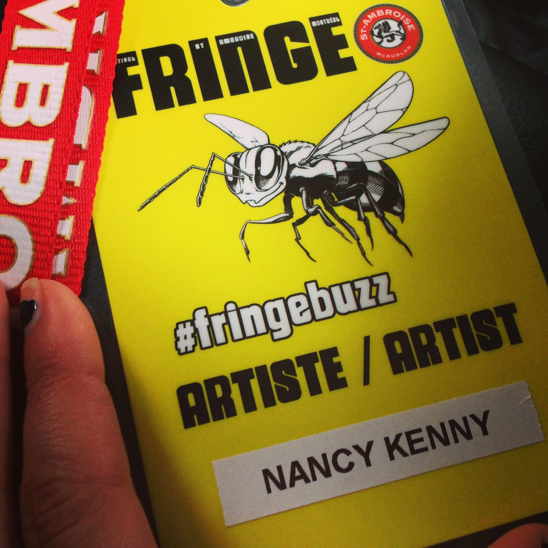 #MTLFringe #FringeBuzz