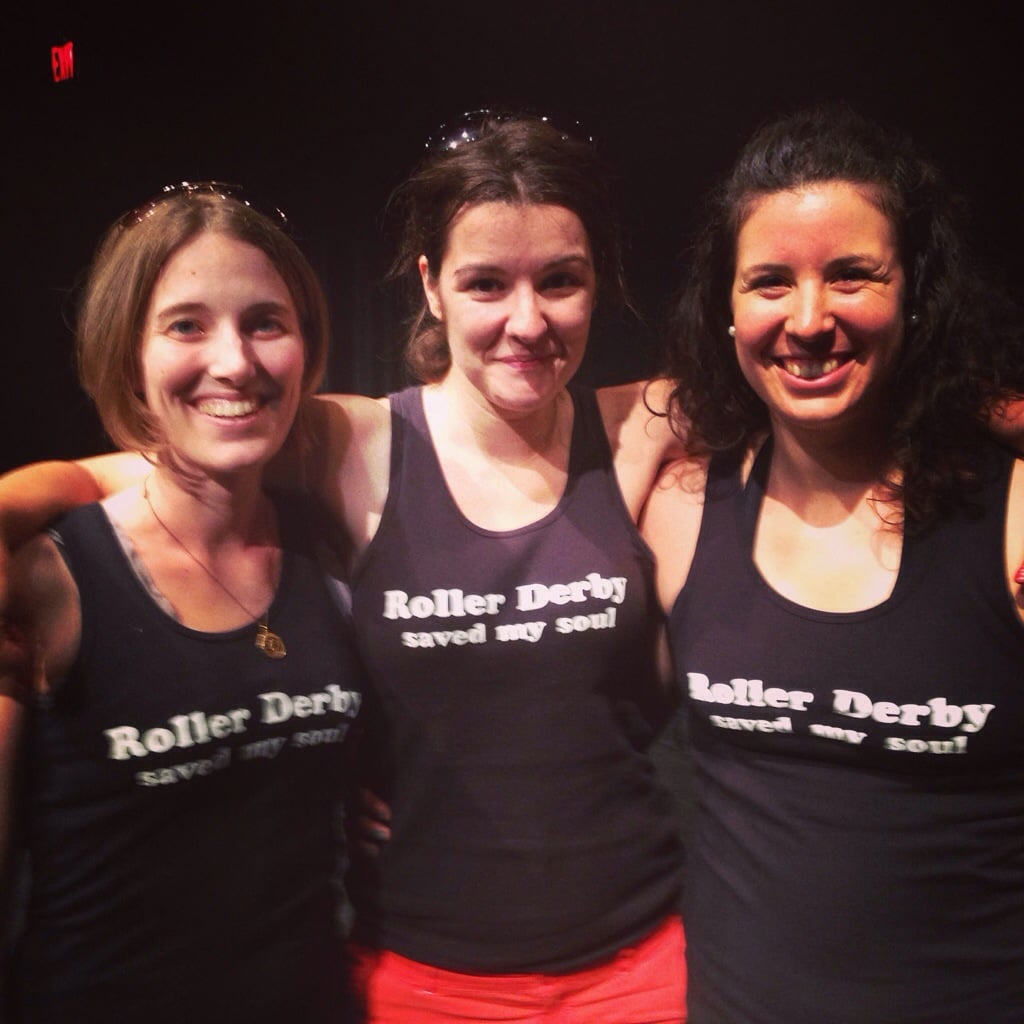 With TO stage manager, Mikaela Dyke and choreographer Patricia Allison.