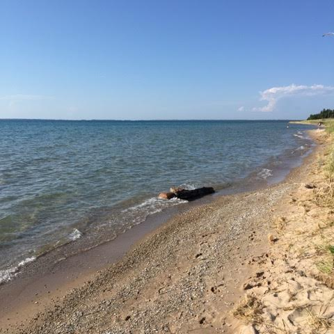 Visiting my happy place... - The closest thing to heaven on earth, for me, is Mackinaw City. When I'm here, I feel inspired, full of joy and at peace. It is my wish that every person has a spot on this planet that makes them feel the way Mackinaw makes me feel.