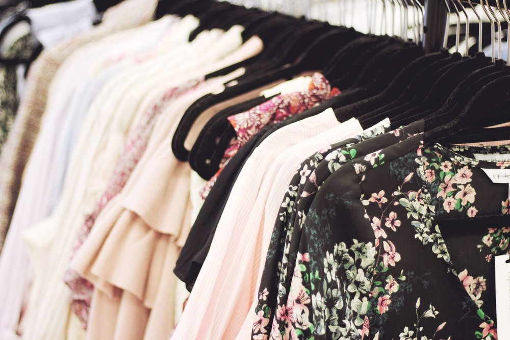 blush pink clothing
