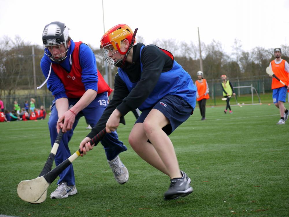 Clash Gaelic Games clash of hurls.JPG