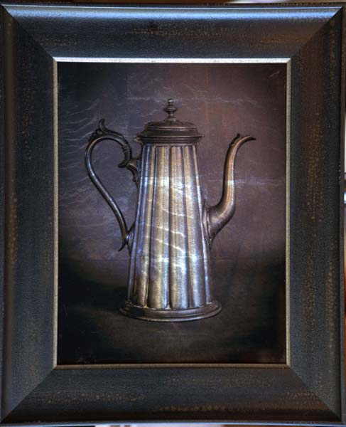 Fluted Coffee Pot