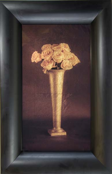 Tall Vase of Roses