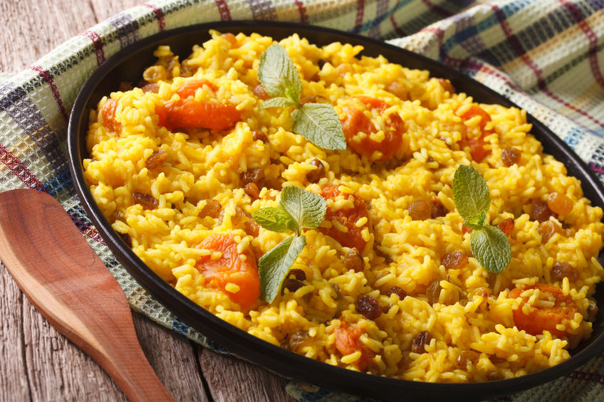 Cinnamon-Scented Rice Pilaf with Apricots & Raisins — Cooking with ...