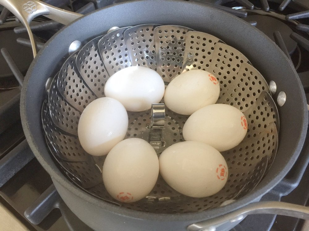 Eggs steaming.jpg