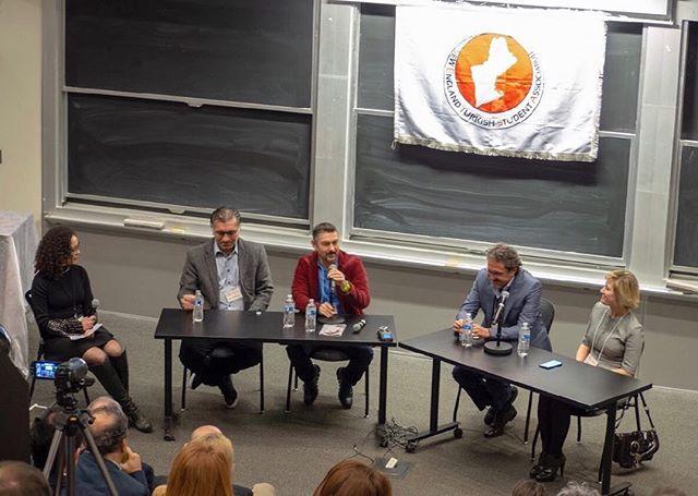 """""""Gelecek Burada"""" Eğitim'in Geleceği panelimizde Bengisu Özbay'ın moderatörlüğünde Selçuk Şirin, Can Erbil, Murat Tarımcılar ve Sinem Vatanarttıran'ı ağırladık. Kendilerine bize zaman ayırdıkları için tekrardan teşekkürlerimizi iletiyoruz. #netsa #netsagelecegebakis #egitim #boston"""