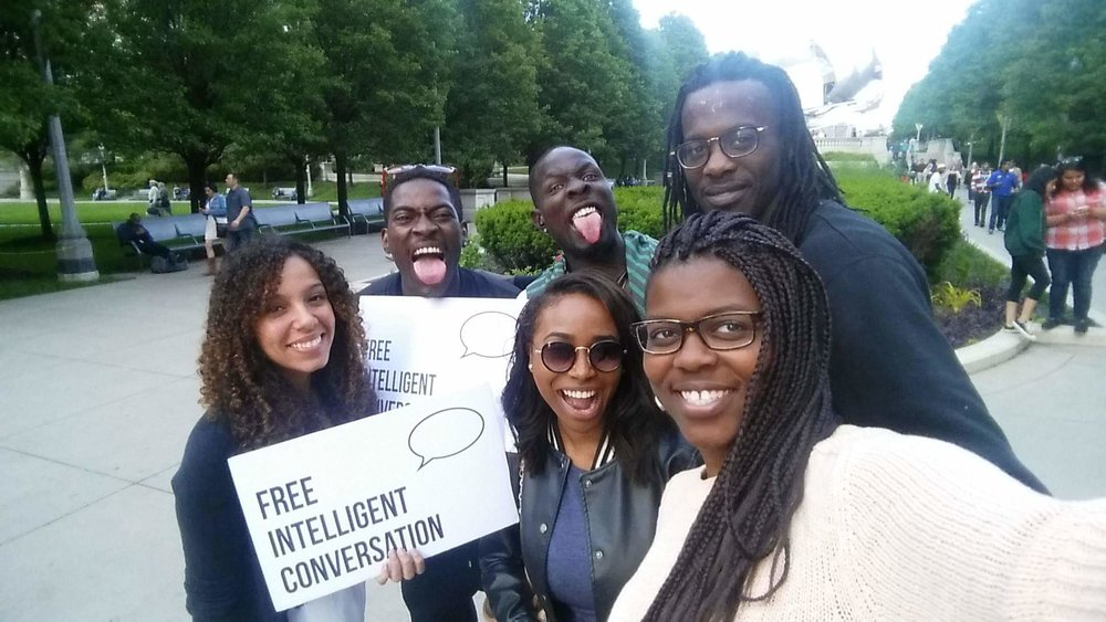 This is an AMAZING movement and we stand behind it 100%, Keep it going!!! It was a pleasure getting to know two beautiful young ladies, Gabby and April.... Until we speak again my friends! #FreeIntelligentConversation Kelly Kris Chicago, IL