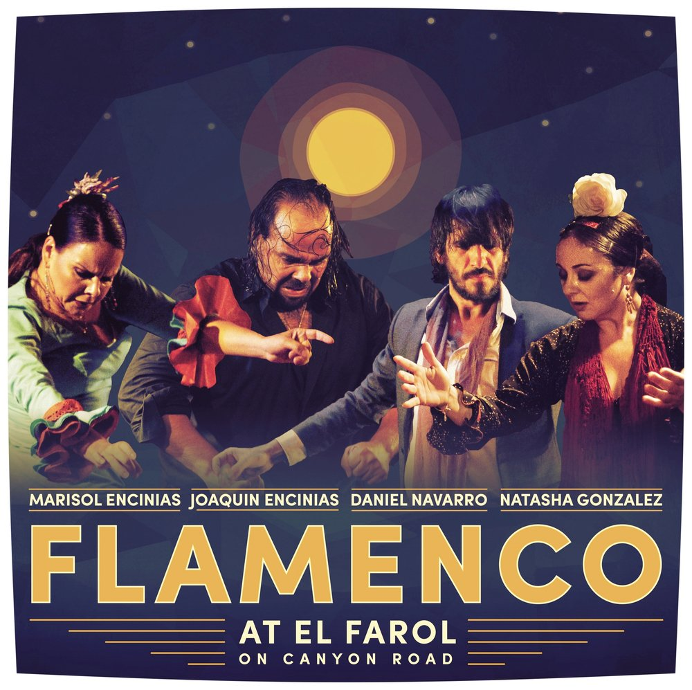 El Farol Restaurant and Cantina has been the longest standing venue for flamenco. We have had the FLAMENCO DINNER SHOWS for more than 25 years along with the great and talented performers of the National Institute of Flamenco. El Farol's Summer Cabaret Flamenco Dinner Series starts July 7th 2016 and runs every night except Wednesdays, through August 21st, 2016. 6:30 p.m. Make your reservations now for a magical evening at El Farol, where the tastes and sounds of Spain are alive. Ole !