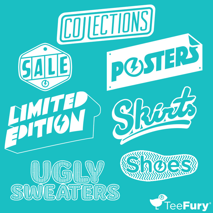 TeeFury Category Branding