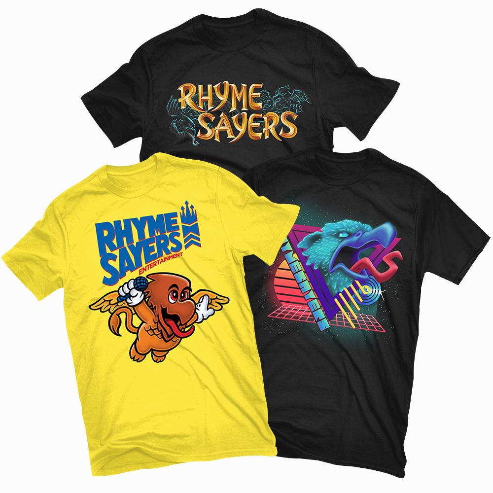 Rhyme Sayers 8-Bit Series