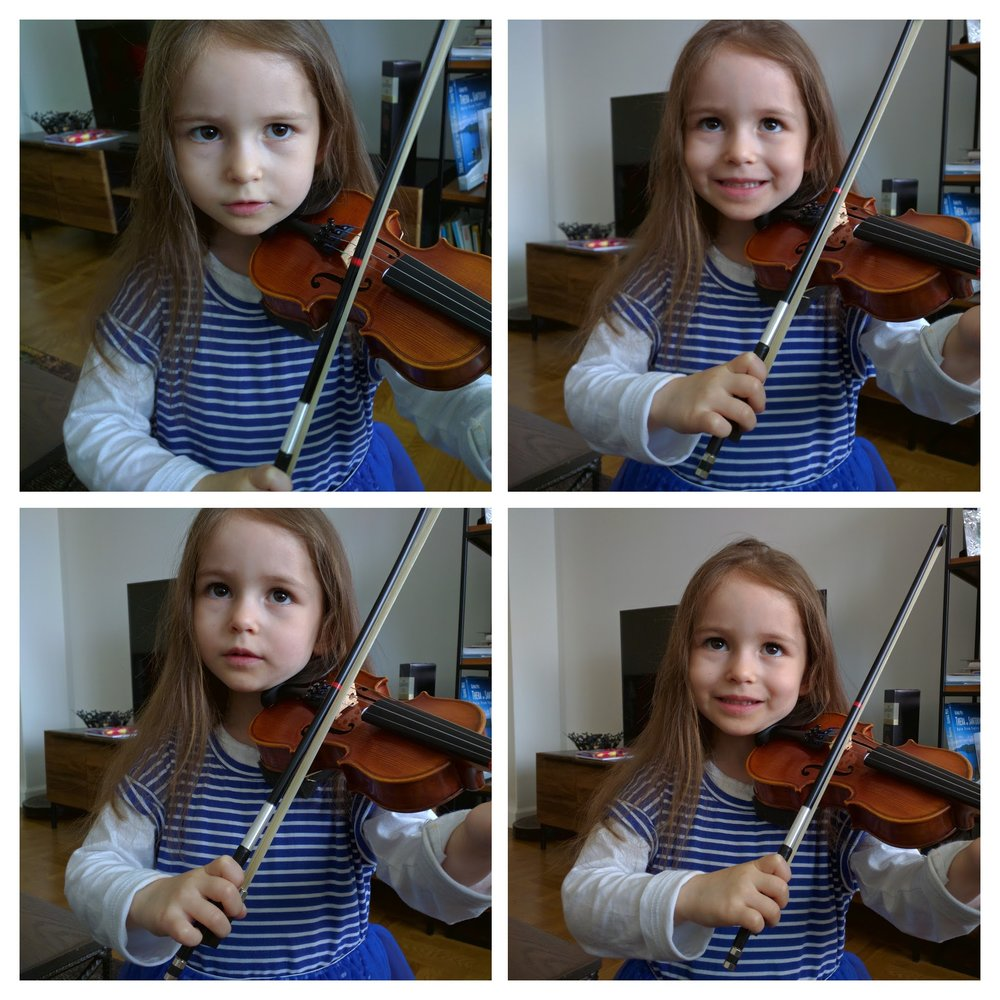 Violin Lessons Practice