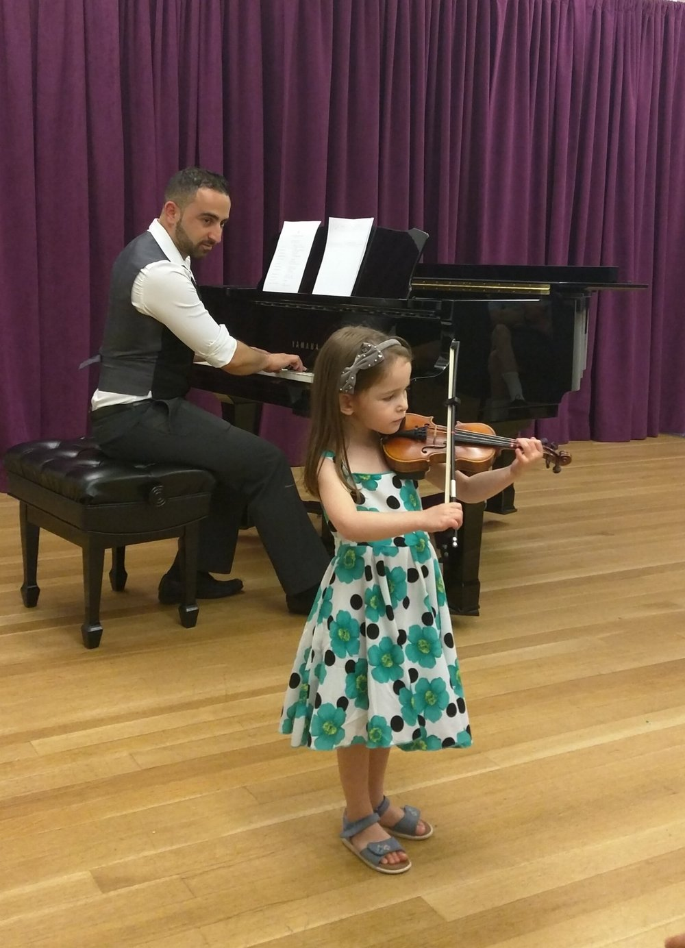 NYC City Strings Violin Recital