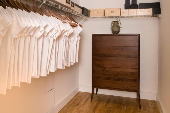 My closet if I had a nice closet