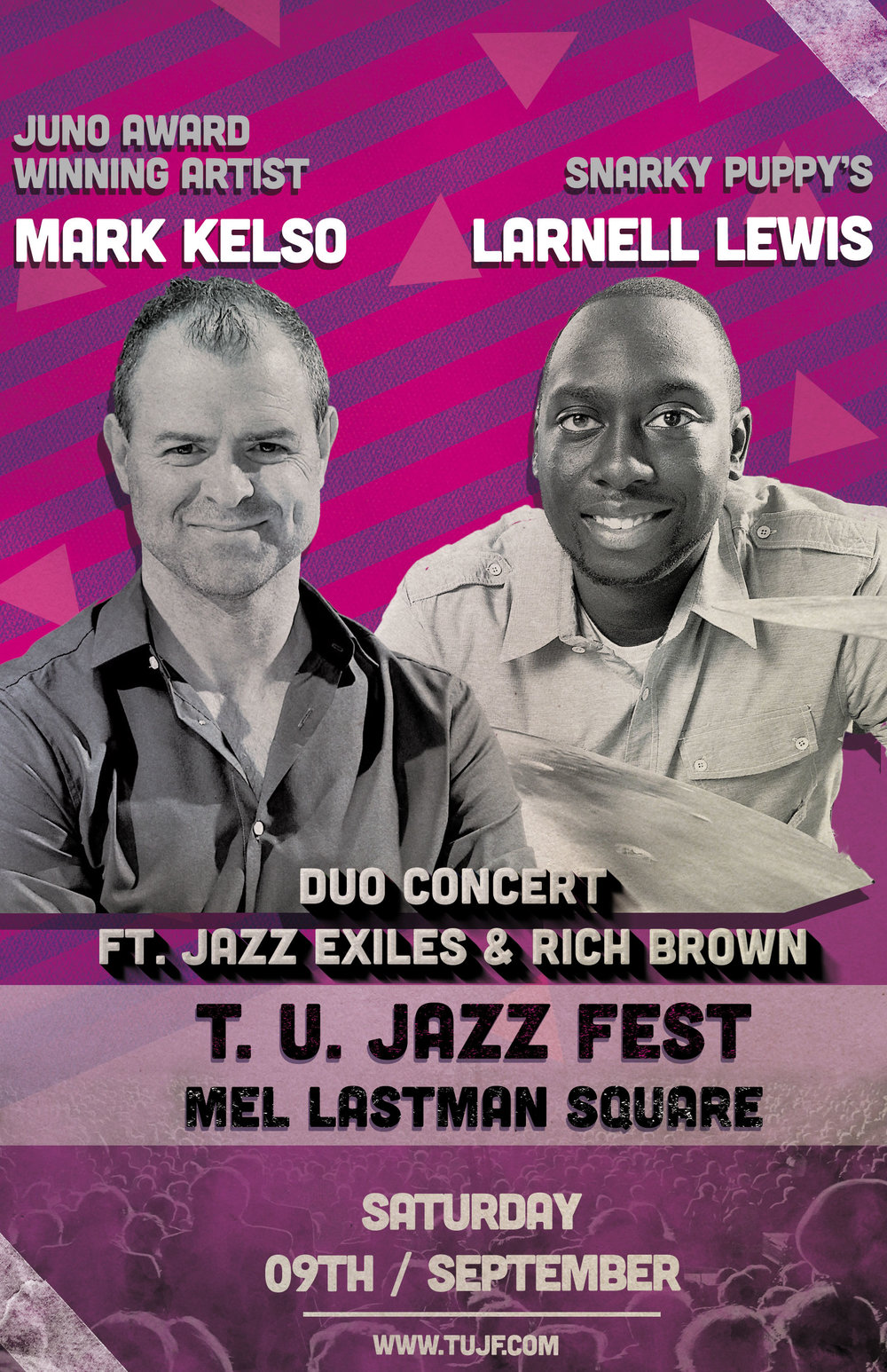 Mark Kelso and Larnell Lewis