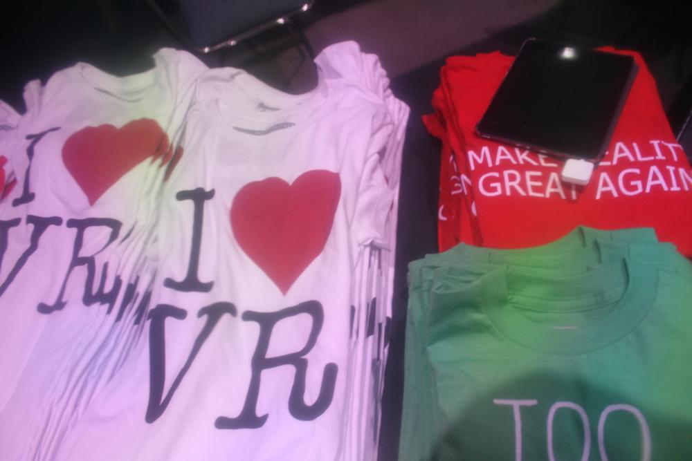 you fecking bet I got one of those I♥️ VR shirts.