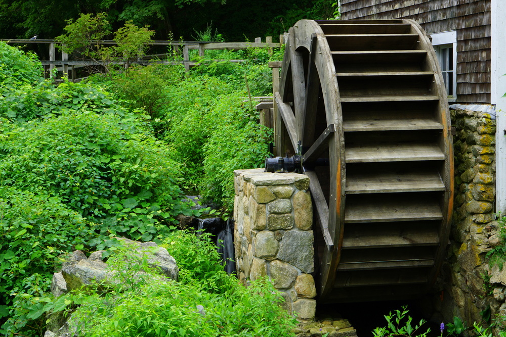 Stony Brook Mill Wheel, Brewster