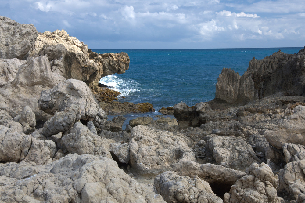 Rocks at Labadee, Haiti