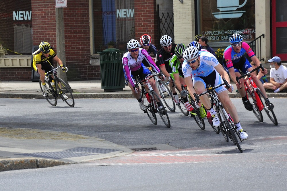Racers in Bennington
