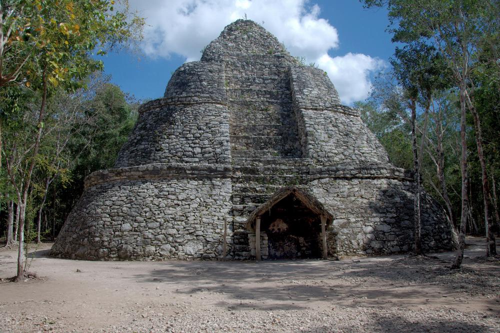 Structure, Coba Maya Ruins, Mexico
