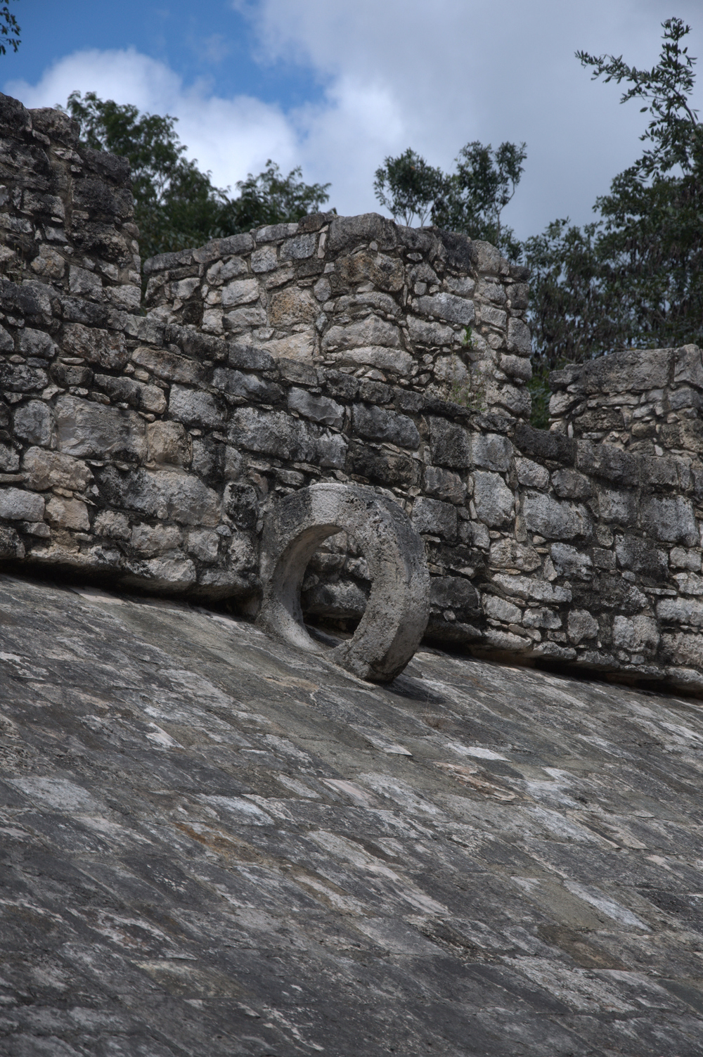 Game Hoop, Coba Maya Ruins, Mexico