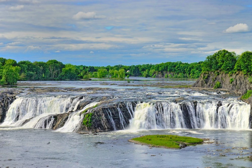 Cohoes Falls in May