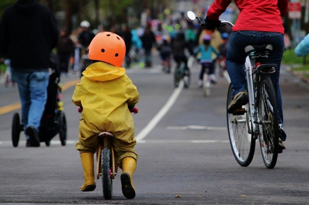 Let's make our community  SAFE AND CONVENIENT FOR EVERYONE  who wants to walk and bike   Join the Movement