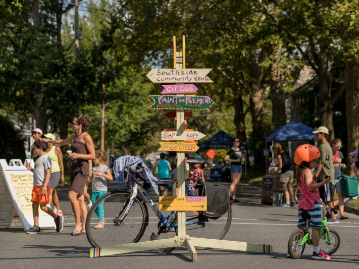 Streets Alive! Ithaca - Now in its fifth year, Streets Alive! Ithaca is when Ithacans walk, bike, roll, play, and dance on streets that are closed to cars and open to people.