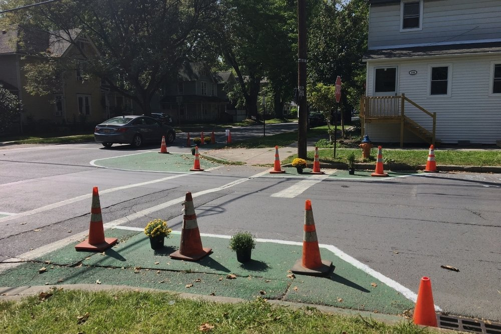 Give us your thoughts at the   Southside Traffic Calming Open House   Wed, Oct 25, 4-7 PM at Southside Community Center   Learn More