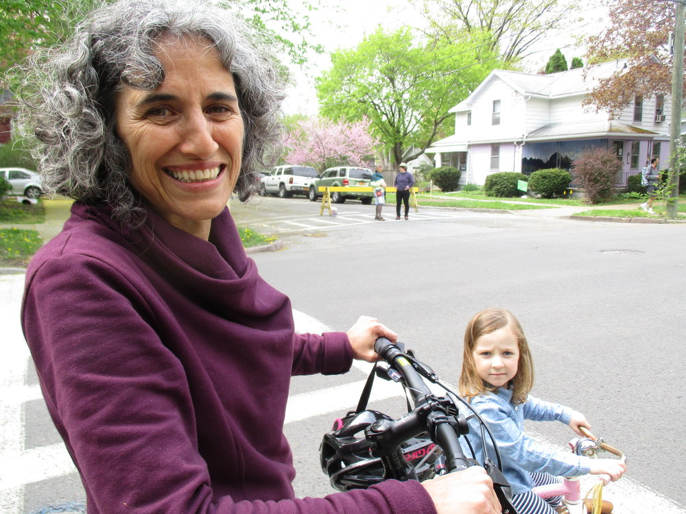 30-40% of residents in Ithaca would bike more often if it felt safer. - Get Your GreenBack Tompkins (2016)